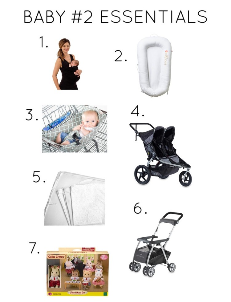 baby number 2 essentials